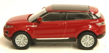 Oxford Diecast 76RR005  Range Rover Evoque Firenze Red