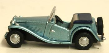 Oxford Diecast 76MGTC005  MGTC Powder Blue