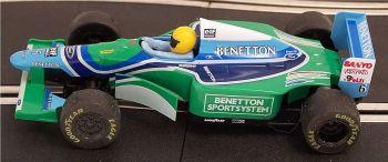 "Scalextric C237  Ford Benetton B193 (1994) ""VERSTAPPEN Jos"" 1:32"