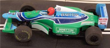 """Scalextric C142  Ford Benetton B193 (1994) """"Schumacher"""" 1:32"""