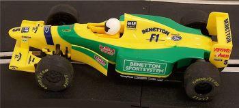 "Scalextric C492  Ford Benetton B193A ""Schumacher"" 1:32"