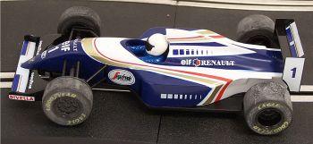 """Scalextric C2012  Williams Renault FW16 """"Jacques Villeneuve"""" 1:32"""