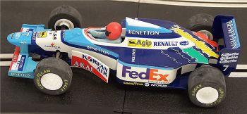 "Scalextric C2114  Benetton Renault B197 (1997) ""ALESI Jean"" 1:32"