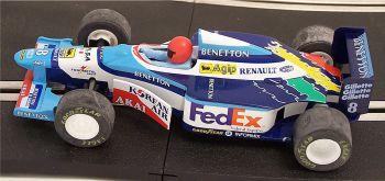 "Scalextric C2106  Benetton Renault B193 ""Gerhard Berger"" 1:32"