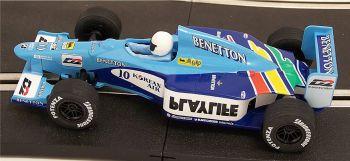 "Scalextric C2187  Benetton Renault B199 ""Alexander Wurz"" 1:32"