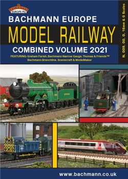 Bachmann 36-2021  Bachmann Europe Model Railway Combined Volume 2021