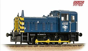 Bachmann 31-368DS  BR class 03 Diesel Shunter (Sound fitted)