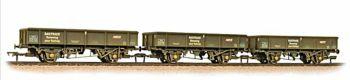 Bachmann 38-105  3-Pack PNA 5-Rib Open Wagon Railtrack (weathered)
