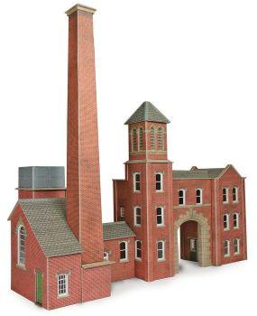 Metcalfe PO284  Boilerhouse & Factory Entrance