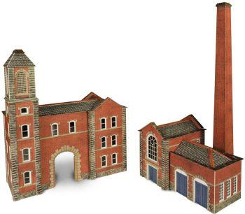 Metcalfe PN184  Boilerhouse & Factory Entrance