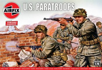 Airfix A00751V  WWII US Paratroops 1:76