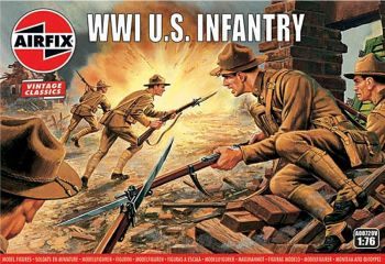 Airfix A00729V  WWI U.S. Infantry 1:76