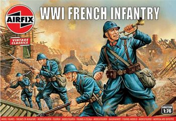 Airfix A00728V  WWI French Infantry 1:76
