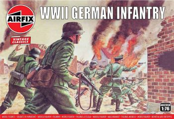 Airfix A00705V  WWII German Infantry 1:76