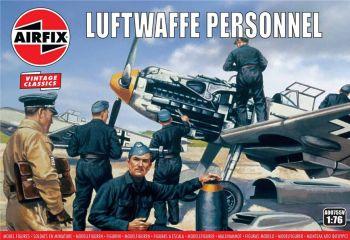 Airfix A00755V  Luftwaffe Personnel 1:76