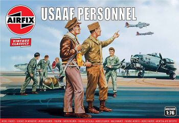 Airfix A00748V  USAAF Personnel 1:76