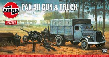 Airfix A02315V  Pak 40 Gun & Truck 1:76