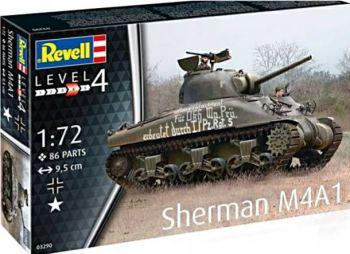 Revell 03290 Sherman M4A1 Tank 1:72