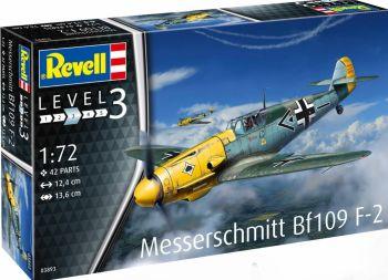 Revell 03893  Messerschmitt Bf109 F-2 1:72