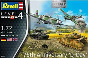 Revell 03352  D-Day 75th Anniversary Gift Set 1:72