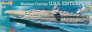 Revell 05046  U.S.S. Enterprise 1:720