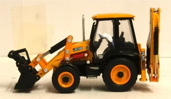 Oxford Diecast 763CX004  JCB 3CX ECO Backhoe Loader