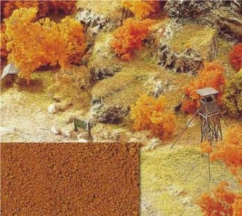 Busch 7325  Orange / Brown Autumn Flock