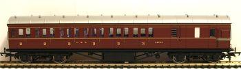 Hornby R4677B  LMS Period III Non-Corridor 57' Third Class Brake 20754