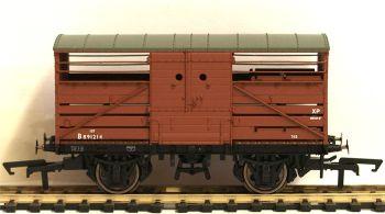 Hornby R6826A  BR 10t Bullied Cattle Wagon, Dia.1530