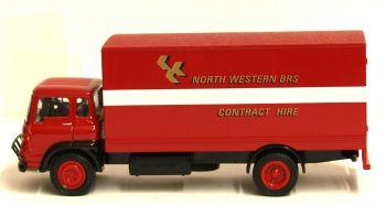 EFE 22912  Bedford TK 2 Axle Short Box Van North Western B.R.S. 1:76
