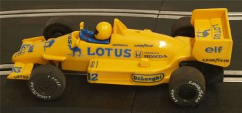 "Scalextric C434  Lotus Honda Turbo 99T ""Ayrton Senna"" 1:32"
