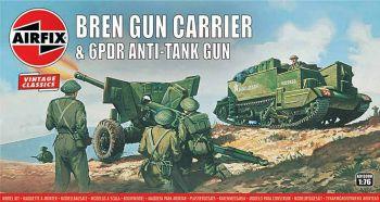 Airfix A01309V  Bren Gun Carrier & 6PDR Anti-Tank Gun 1:76