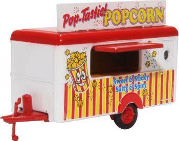 Oxford Diecast 76TR016  Popcorn Mobile Trailer