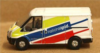 Oxford Diecast NFT035  National Grid Ford Transit MK V SWB Low Roof