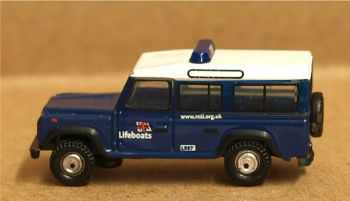 Oxford Diecast NDEF014  RNLI Land Rover Defender Station Wagon
