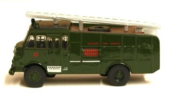 Oxford Diecast NGG001  Green Goddess Auxiliary Fire Service