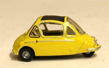 Oxford Diecast 76HE003  Heinkel Kabine Yellow