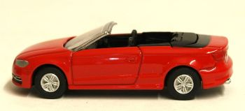 Oxford Diecast 76S3003  Misano Red Audi S3 Cabriolet