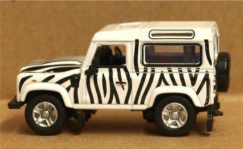Oxford Diecast 76LRDF013  Safari Land Rover Defender 90