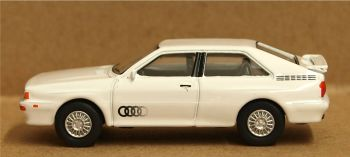 Oxford Diecast 76AQ002  Audi Quattro Alpine White