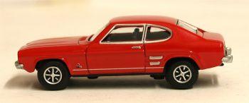 Oxford Diecast 76CP002  Ford Capri Mk1 Sunset Red