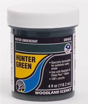 Complete Water System CW4532  Hunter Green Water Undercoat