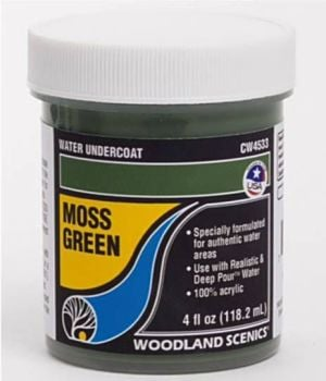Complete Water System CW4533  Moss Green Water Undercoat