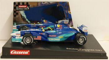 "Carrera 25460  Evolution Sauber-Petronas C21 No8 ""Felipe Massa"" 1:32"