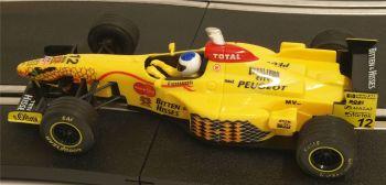 "Ninco 50173  Jordan Peugeot 197 ""Giancarlo Fisichella"" No12 1:32"