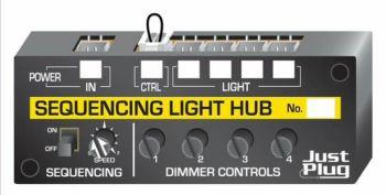 Just Plug™ Lighting System JP5680  Sequencing Light Hub