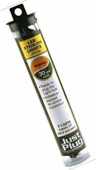 Just Plug™ Lighting System JP5736  Orange Stick-on LED Lights