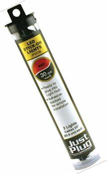 Just Plug™ Lighting System JP5739  Red Stick-on LED Lights