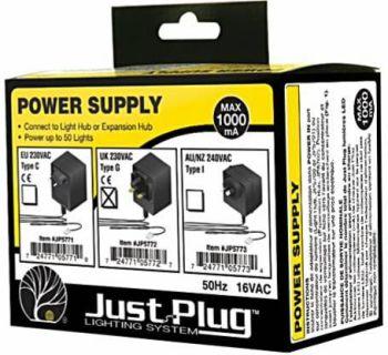 Just Plug™ Lighting System JP5772  UK Power Supply
