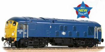 Bachmann 32-416  BR Blue Class 24/0 24035 Disc Headcode